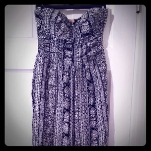 Band of Gypsies jumpsuit, Strapless